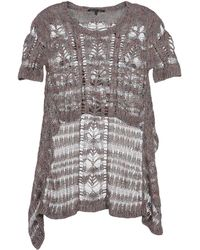 Theyskens' Theory Short Sleeve Sweater - Lyst