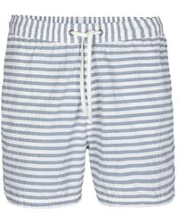 AllSaints - Kyak Swim Shorts - Lyst