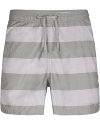 AllSaints - Spinnaker Swim Shorts - Lyst