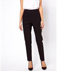 ASOS Collection Trousers with High Waist - Lyst