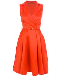 Atelier Siviglia   Sleeveless Shirt Dress   Lyst