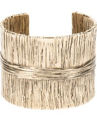 Aurelie Bidermann Textured Cuff - Lyst