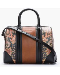 Givenchy Brown New Line Printed Paisley Bag - Lyst