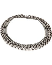 Janis Savitt - Silvertone Necklaces - Lyst