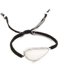 Tai Large Pave Stone Bracelet - Natural