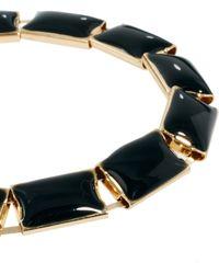 ASOS - Asos Enamel Link Bracelet - Lyst