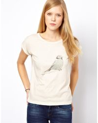 NW3 by Hobbs Nw3 Bird Tee - Natural