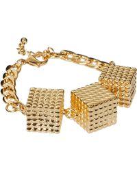 ASOS - Asos Cube Bracelet - Lyst