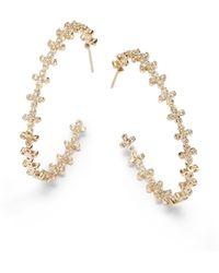 Belargo - Clover Hoop Earrings - Lyst