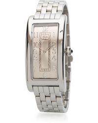 Brooks Brothers - Ladies' Rectangular Mesh Bracelet Watch - Lyst
