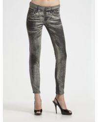 D&G Pretty Skinny Acidwashed Jeans - Lyst