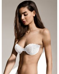 Fashion Forms Strapless Adhesive Lace Bra white - Lyst