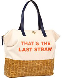 Kate Spade Call To Action Thats The Last Straw Terry - Lyst