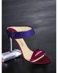 Max Kibardin - Crystalcoated Lip Sandals - Lyst