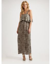 T-bags Layered Stone Bodice Dress - Lyst