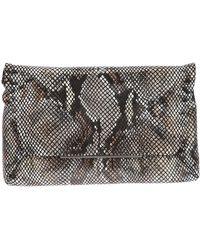 Lanvin Snake Skin Shoulder Bag - Lyst