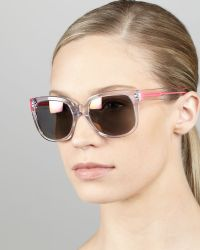 Marc By Marc Jacobs Clear Photochromic Sunglasses - Lyst