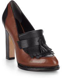 Rachel Roy Jacqueline Leather Oxford Pumps - Black