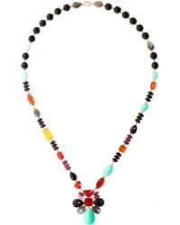 Irene Neuwirth - Multigemstone Link Necklace - Lyst