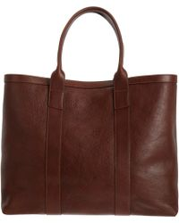 Lotuff Leather - Large Chestnut Tote - Lyst