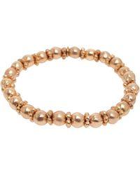 Philippe Audibert Elvire Ball Link Bracelet gold - Lyst