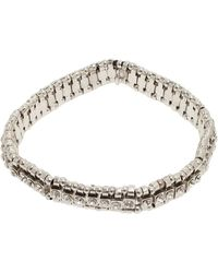 Philippe Audibert Broome Swarovski Bracelet silver - Lyst