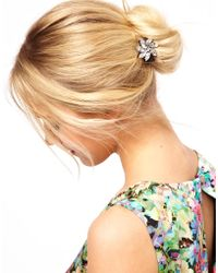 ASOS Collection |  Flower Hair Brooch | Lyst