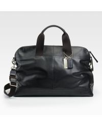 Coach Thompson Leather Duffle - Lyst