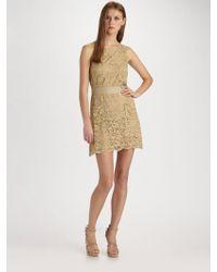D&G Lace Mini Dress - Lyst