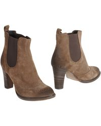 Francesco Morichetti Ankle Boots - Lyst