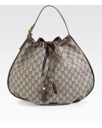 Gucci Interlocking Icon Medium Shoulder Bag - Lyst