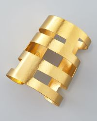 Herve Van Der Straeten - Geometric Cutout Cuff - Lyst