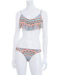 Mara Hoffman 2piece Cropped Bikini - Lyst