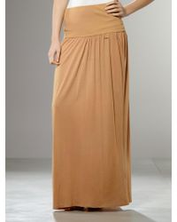 Patrizia Pepe Long Skirt - Lyst