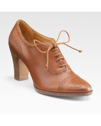 Ralph Lauren Collection Inalia Laceup Ankle Boots - Lyst