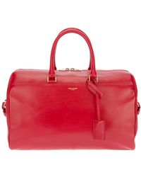 Saint Laurent Duffle 12 Bag - Red