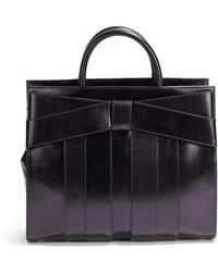 Z Spoke by Zac Posen Shirley Leather Bow Satchel - Black