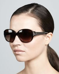 David Yurman - Stretched Wheaton Sunglasses - Lyst