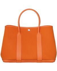 Hermès Orange Garden Party - Lyst