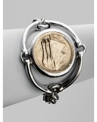 Low Luv by Erin Wasson Horsebit Coin Bracelet - Lyst
