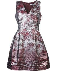 Prabal Gurung Sleeveless Dress - Metallic