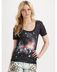 Torn Danna Outer Space Tee - Black