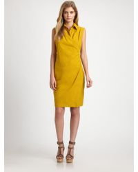 Weekend by Maxmara Cotton Condor Dress - Lyst
