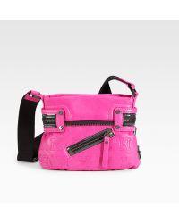 L.A.M.B. - Arcot Leather Mini Crossbody Bag - Lyst