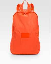 Marc By Marc Jacobs Coated Packable Backpack - Orange