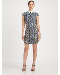 Peter Pilotto Collared Dress - Lyst