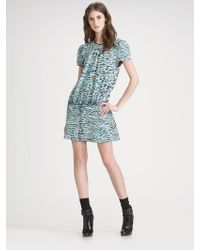 Proenza Schouler Tiedyed Silk Dress - Lyst