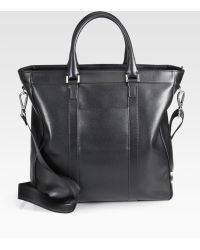 Ferragamo Los Angeles Leather Tote Bag - Lyst