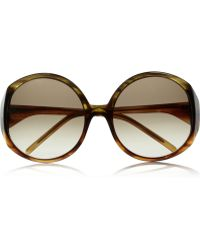 Marni Roundframe Acetate Sunglasses - Lyst
