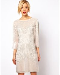 ASOS Collection | Baroque Embellished Dress | Lyst